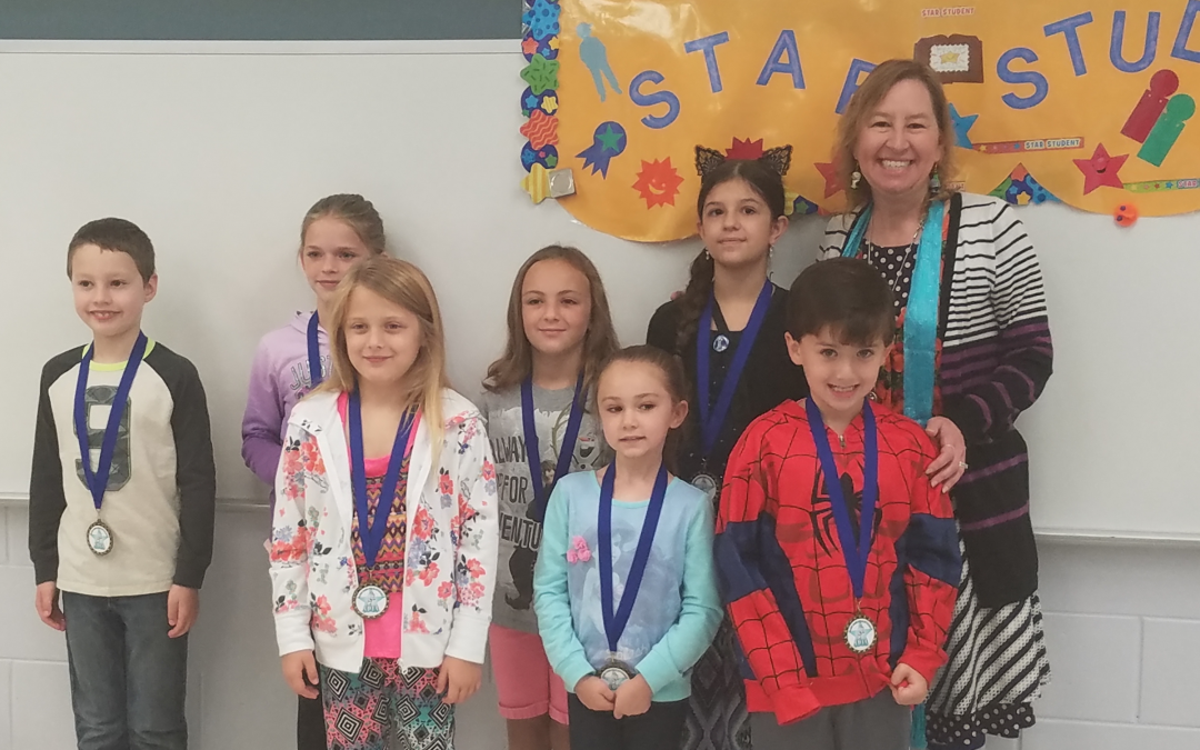 Congratulations October Star Students!