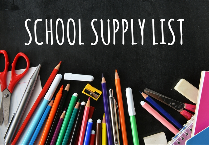 Click for 2018-2019 SPES School Supply Lists!