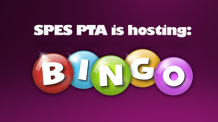 PTA BINGO Night is September 29, 2017