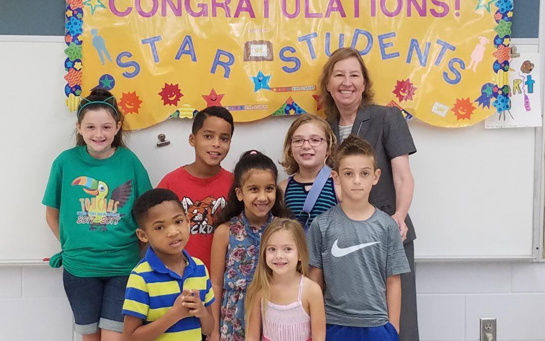 Congratulations September Star Students!