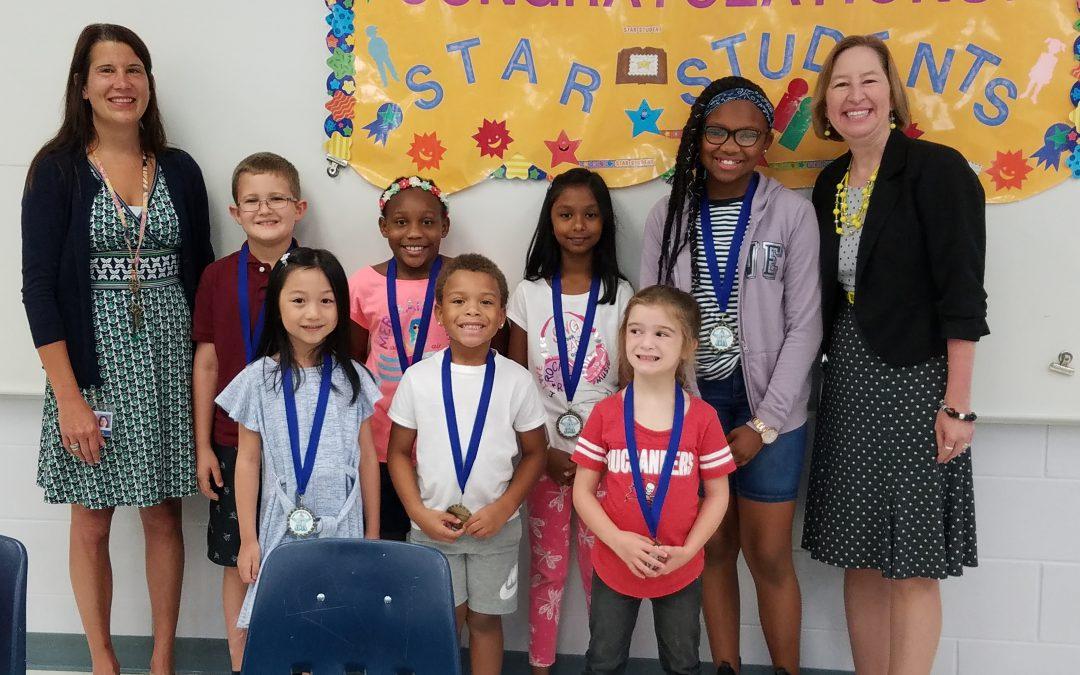 SPES September Star Students!