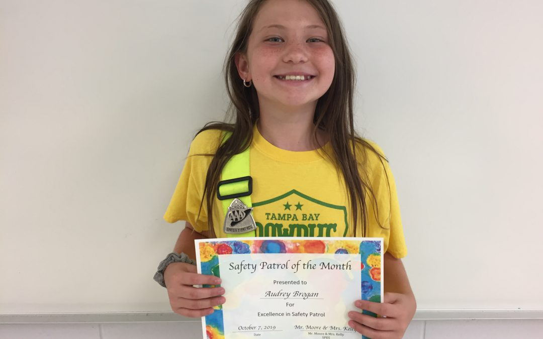 Safety Patrol of the Month